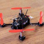 Lantian LT105 brushed quadcopter build review