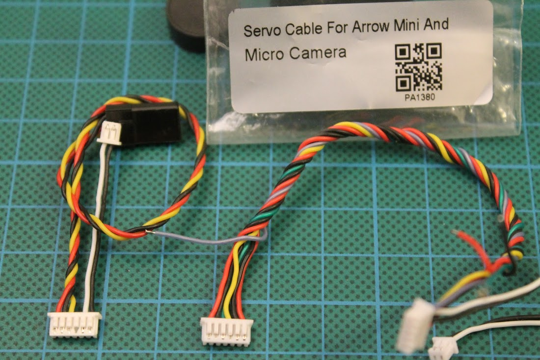 Foxeer Hs1177 V2 Camera Microphone Mod Audio Pin Wiring Plug And Put It In The Missing Place Or You Can Use Mini Micro Arrow Cable Has Exactly Same 6 Connecto That Is Needed