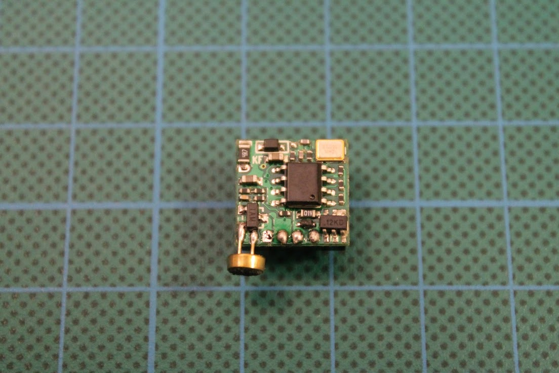 Foxeer Hs1177 V2 Camera Microphone Mod Electret Wiring It Happened That I Had Micro Cmos With Small Fits Perfectly On To The Pcb