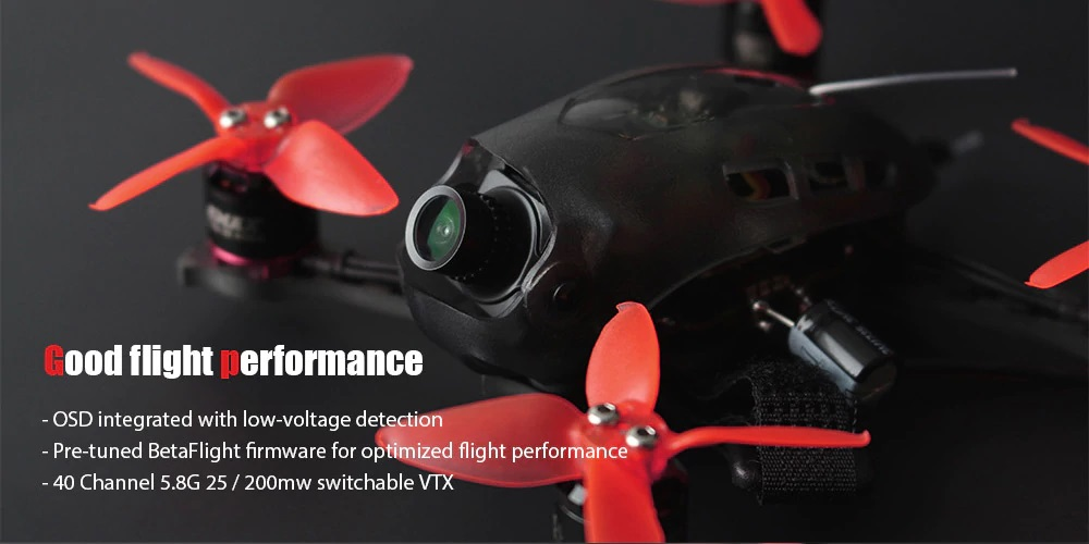emax babyhawk r race edition quadcopter