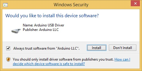 Arduino device drivers download