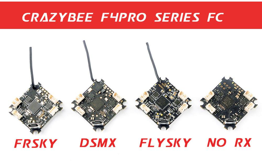 CrazyBee F4 Pro – ultimate whoop FC with F4 MCU