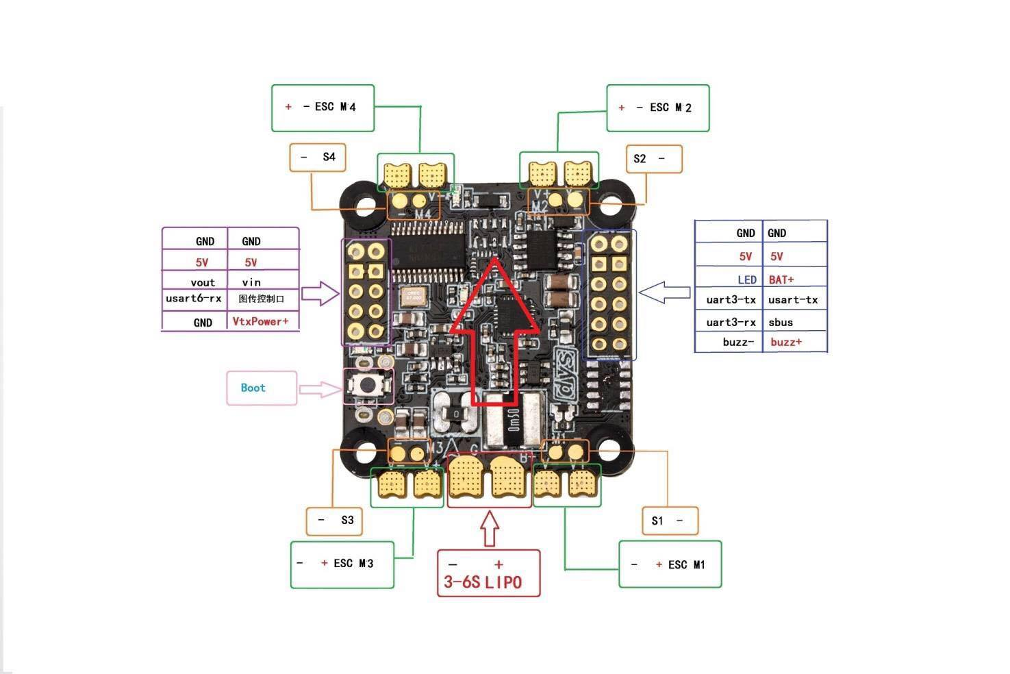 Lumenier Esc Wiring Diagrams Free Download Bec For Rc Car Diagram Dys F4 Fc F30a And F20a 4in1